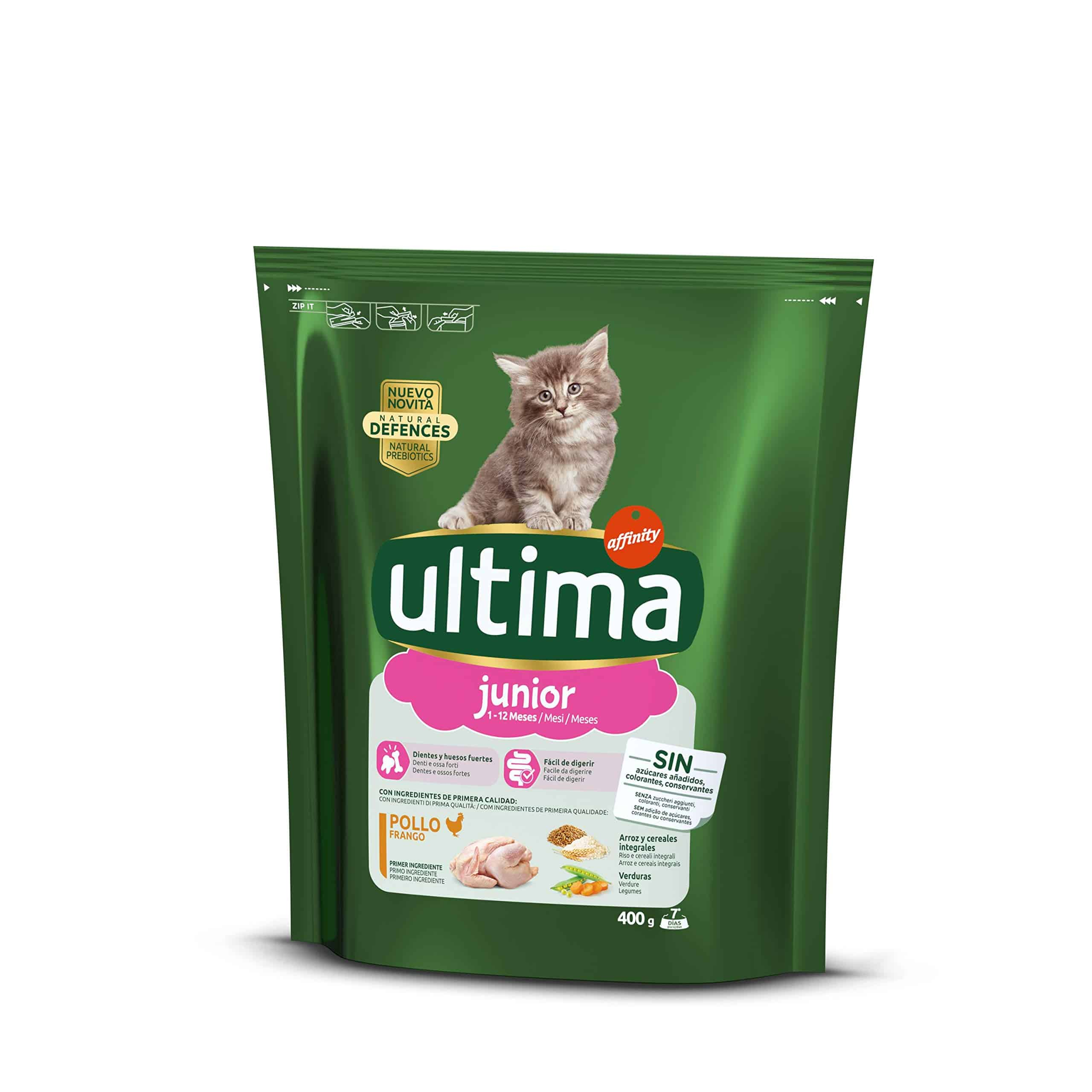 Ultima Gatos Junior Cat - Pollo & Arroz 400 g