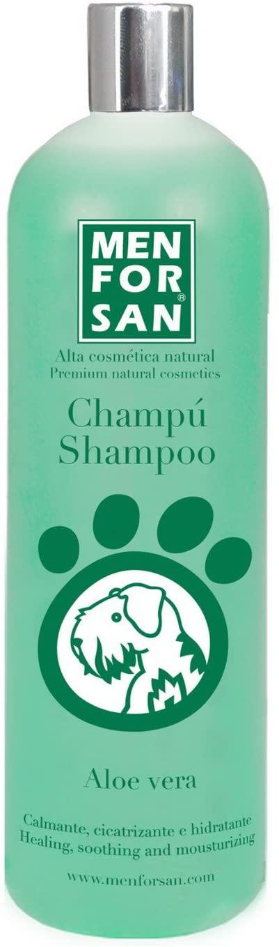 Comprar MENFORSAN Champú Perros Aloe Vera - para pieles con irritaciones, picaduras de insectos, erupciones y eczemas.Proporciona brillo y suavidad.