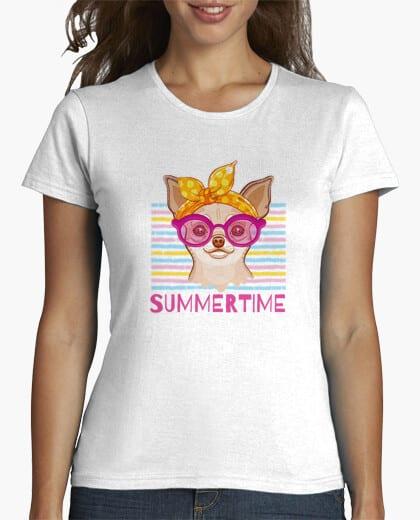 Comprar CAMISETA VERANO 2021 - PERRITA CHIHUAHUA RETRO VINTAGE - Tienda Online Camisetas Originales Personalizadas - Envíos Baratos o Gratis