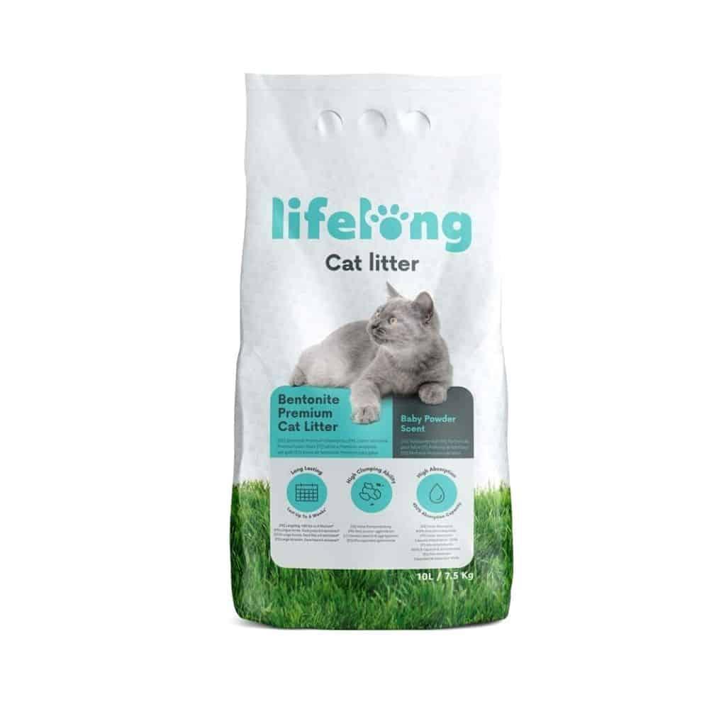 Lifelong Arena de bentonita para gatos